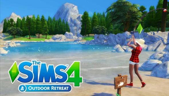 Image result for sims 4 outdoor retreat