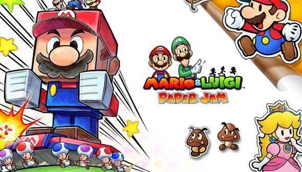 Buy Mario & Luigi Paper Jam Bros. key | DLCompare.com